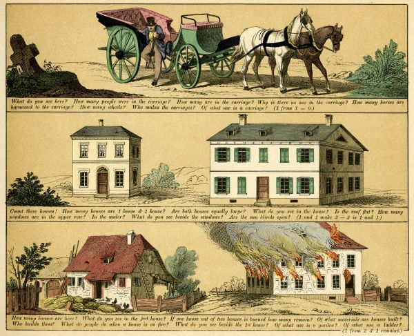 Plate 5 features pictures of houses. Date: 1880