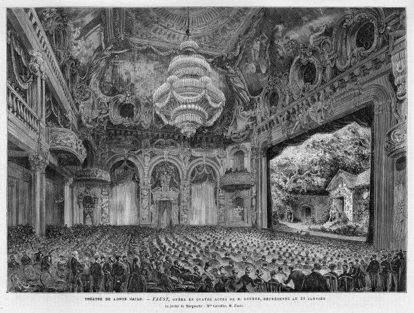 "THEATRE DE MONTE CARLO Production of Gounod's ""Faust&quot"