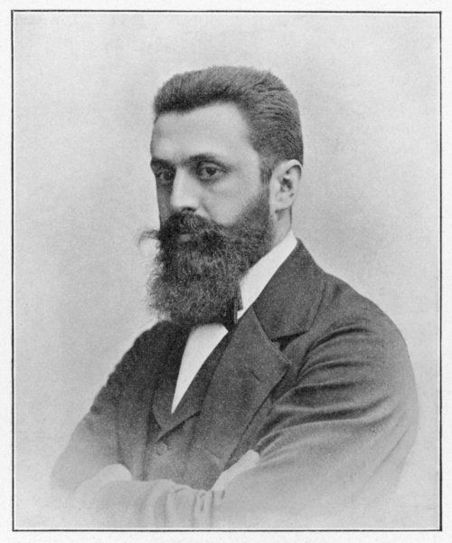 THEODOR HERZL Hungarian Zionist leader