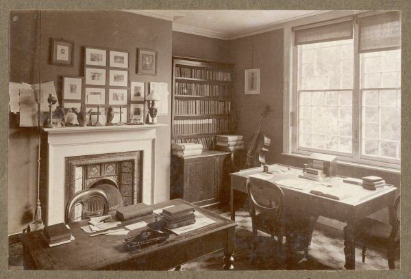 THOMAS HARDY Thomas Hardy's home at Max Gate - the Library