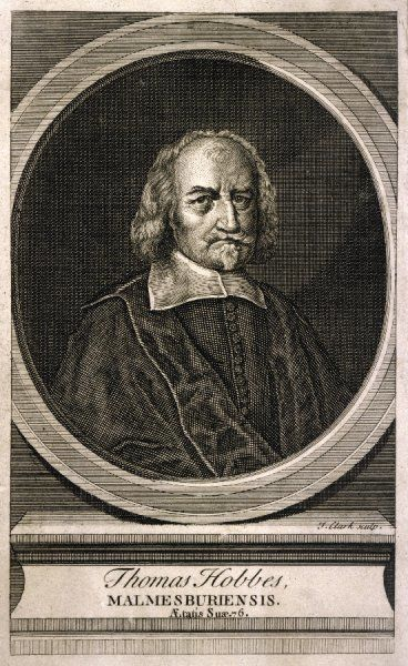 THOMAS HOBBES English philosopher at the age of 76