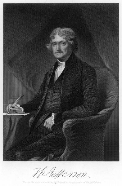 an analysis of the beliefs of thomas jefferson an american president 1 life and writings thomas jefferson was a born at shadwell, virginia, in 1743 his father, peter jefferson, was a farmer and surveyor, and did much, of his own initiative, to improve himself.