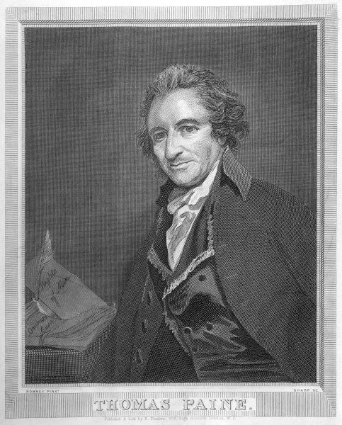 THOMAS PAINE Radical political writer and freethinker