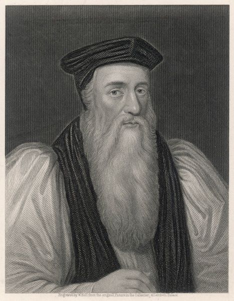 THOMAS CRANMER Archbishop of Canterbury