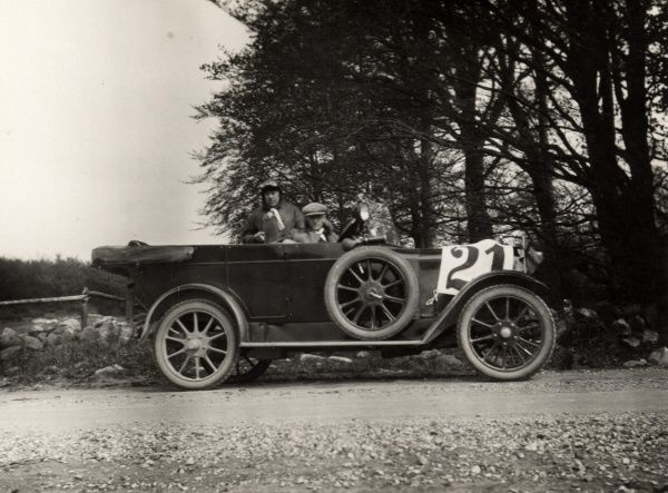 Thulin Car Type A 25 Cabriolet manufactured at Thulin Factory, Landskrona, 1920. Date: 1920