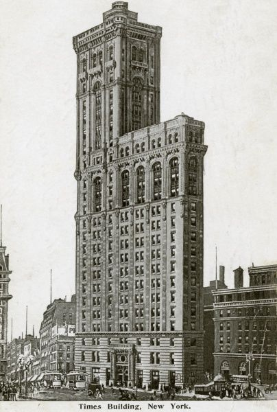 Times Building, New York City, America