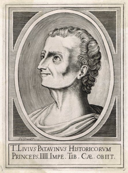 TITUS LIVIUS - Roman historian and writer, also known as Livy