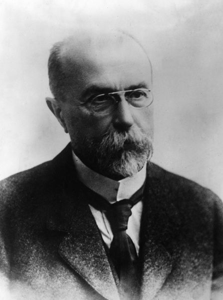 Tomas Garrigue Masaryk (1850-1937), Austro-Hungarian and Czechoslovak politician, founder and first President of Czechoslovakia. Date: circa 1918
