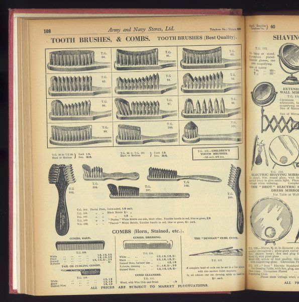 Toothbrushes and Combs