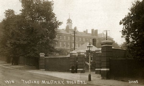 The Tooting Military Hospital operated during World War One in a building on Church Lane, Tooting Graveney, Surrey, formerly St Joseph's Roman Catholic college