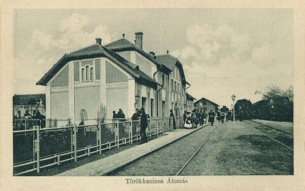 The Railway Terminus at Torokkanizsa, Serbia and Montenegro