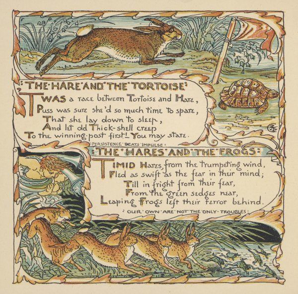 'The Hare and The Tortoise' and The Hare and The Frogs&#39