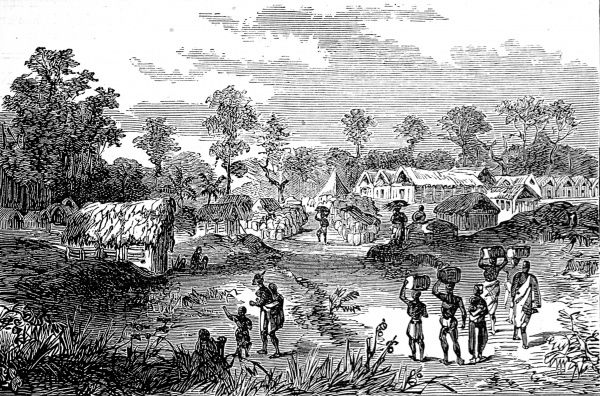 Yancommassie-Assin was one of the towns where the British and set up camp on their expedition to defeat the King of Ashanti during the 2nd Ashanti War (1873-74)