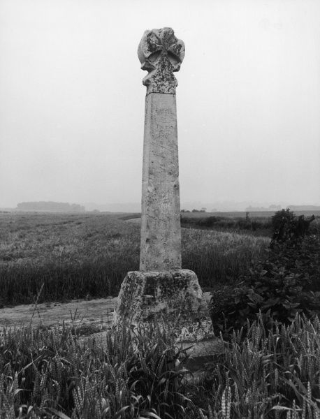 The Battle Monument, Towton, Yorkshire, England, which marks the site where the Yorkists gained victory over the Lancastrians during the Wars of the Roses