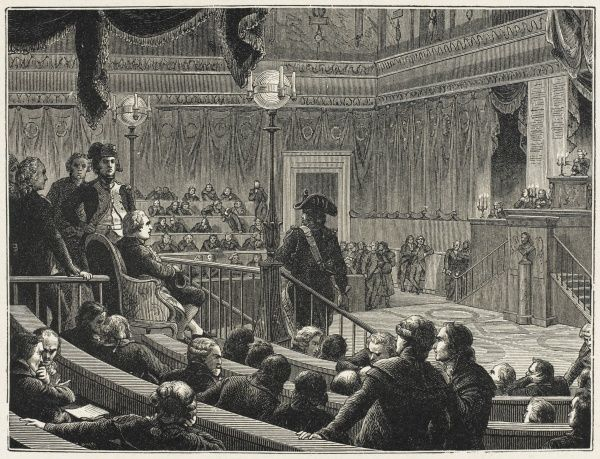 Louis XVI on trial