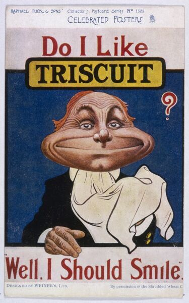Going one better - the Triscuit !