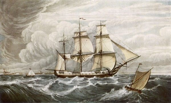 East Indiaman, sank in 1809