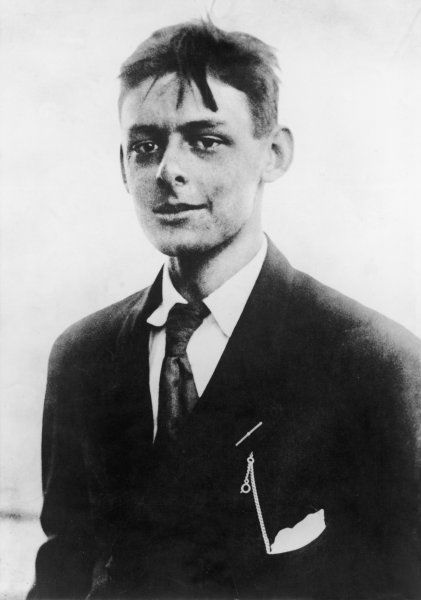 T.S.ELIOT American-born writer, photographed in his early twenties