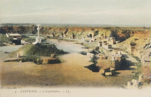 The remains of the amphitheatre, Carthage