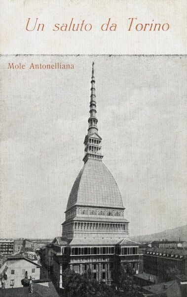 Originally built as a synagogue, the Mole Antonelliana is a major landmark of the Italian city of Turin