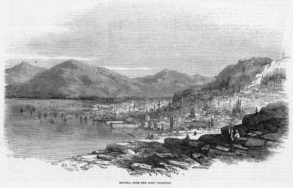 (formerly known as Smyrna) General view of the harbour