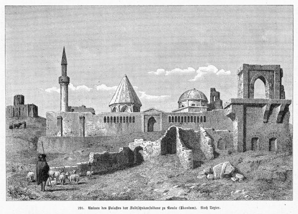 (aka Iconium, Konieh etc) The remains of the Seljuk palace