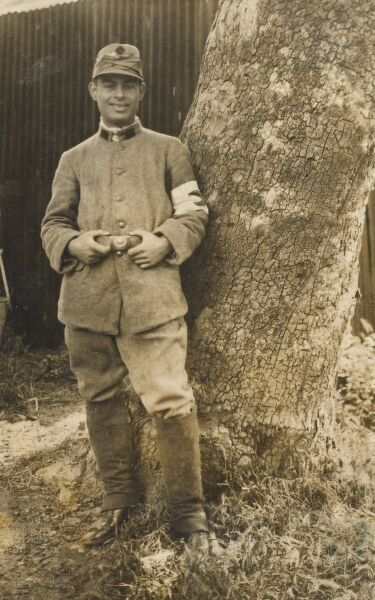 Turkish Red Crescent Military Medical Orderly during World War One