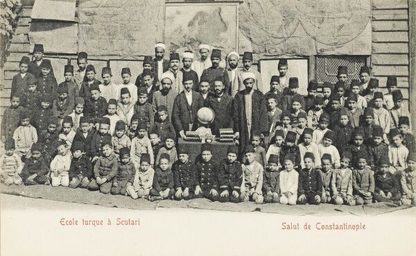 The Turkish School at Scutari (Uskudar) - Asian side of the Bosphorus