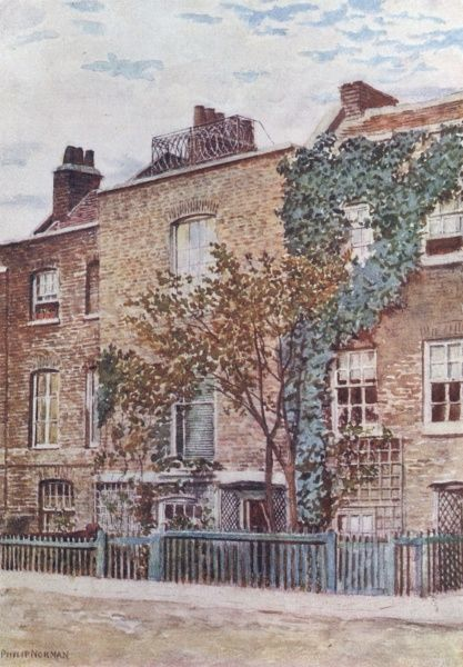 JMW TURNER House in Cheyne Walk, Chelsea, where the artist died on 19 December 1851 Date: 1775 - 1851