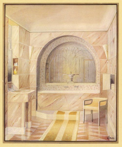 A bathroom suggestion from Trollope Studios