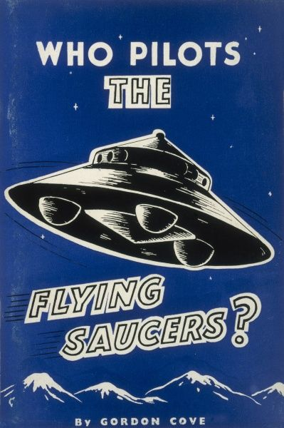 Gordon Cove 'WHO PILOTS THE FLYING SAUCERS ?' English book tells us that they are celestial warnings of imminent catastrophe