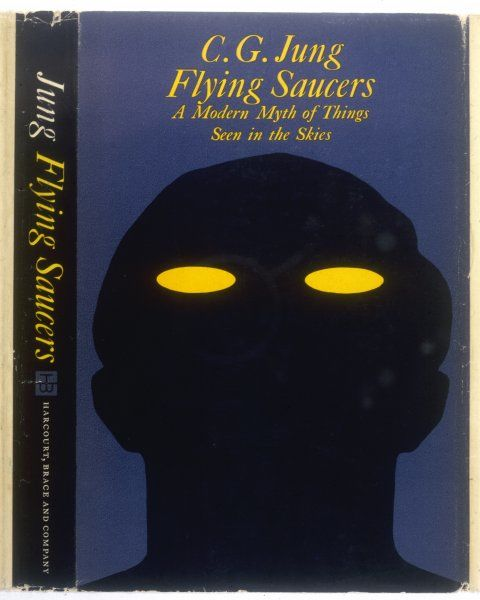 Carl Gustav Jung, 'FLYING SAUCERS : A MODERN MYTH OF THINGS SEEN IN THE SKIES&#39