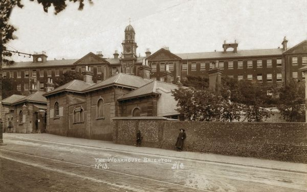 Brighton Union workhouse on Race Hill, at Elm Grove in Brighton, Sussex, which opened in 1867