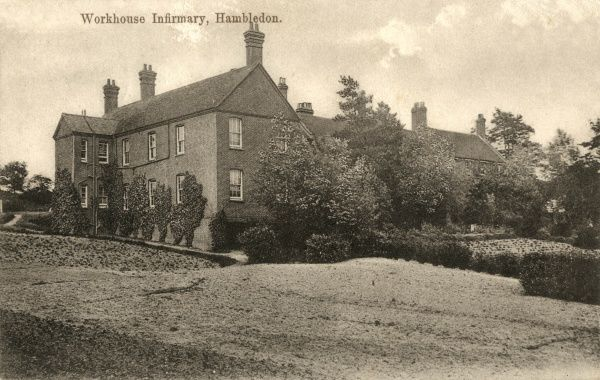 Infirmary building at the Hambledon Union workhouse in Surrey