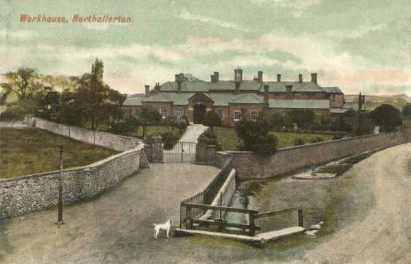 The Northallerton Union workhouse at Friarage Fields, Northallerton, North Yorkshire