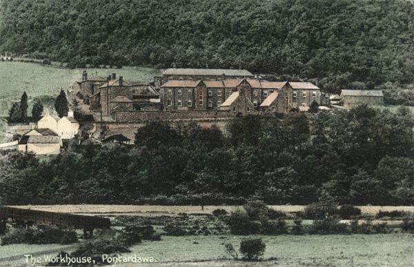 The Pontardawe Union workhouse was erected in 1870 on Brecon Road, Pontardawe, Glamorgan, Wales. It later became the Danybryn Hostel