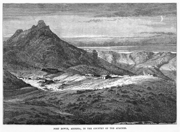 'Fort Bowie, Arizona, in the country of the Apaches&#39