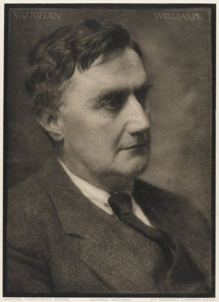 RALPH VAUGHAN WILLIAMS composer