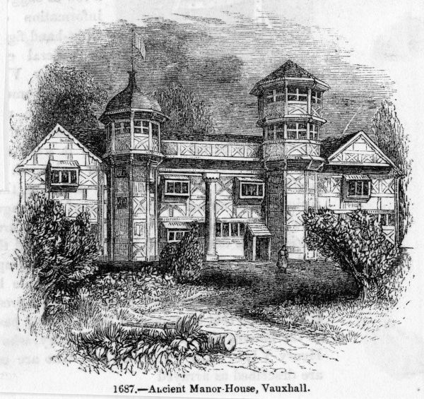 The ancient manor-house of Vauxhall