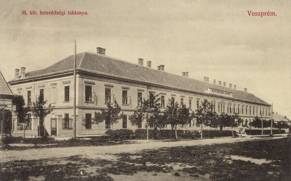 Veszprem, Hungary - Army barracks