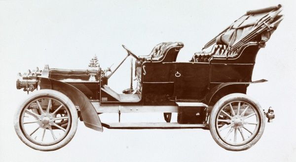 Automobile (Cars). Automobile Date: 1907