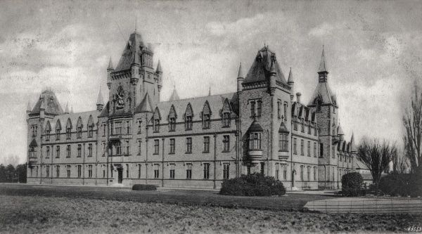 A view of the Royal Victoria Patriotic Asylum, Wandsworth Common, Surrey (now in south west London)