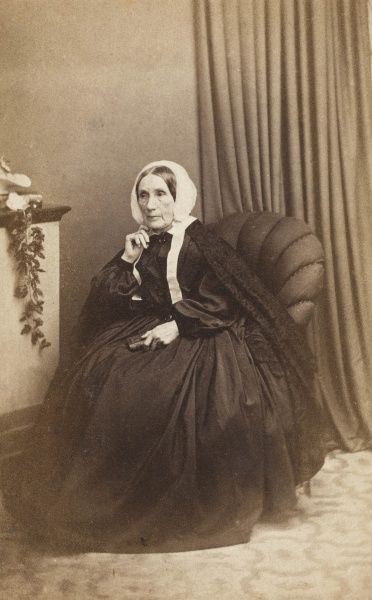 A Victorian widow, Mrs Lort Mansel, who came from an old Welsh family