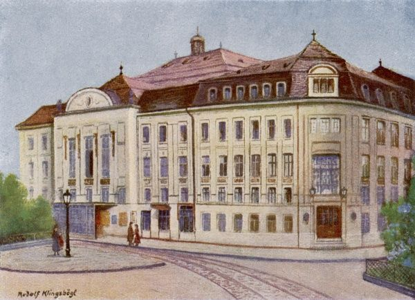 The Konzerthaus in the Lothringerstrasse, Vienna, which opened on 19 October 1913 with a performance of Beethoven's 9th symphony
