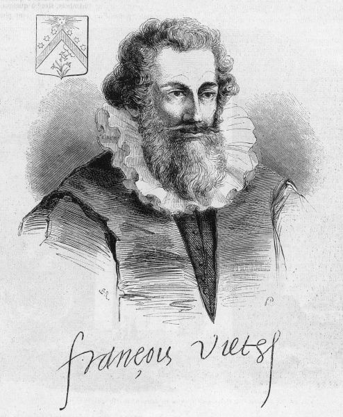 FRANCOIS VIETE French mathematician and cipher expert, introduced methods of algebra & trigonometry