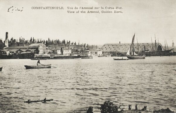 View of the Arsenal on the Golden Horn - Constantinople