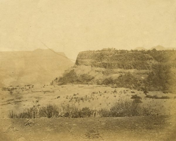 View of Elphinstone Point from Khandalla Date: 1856