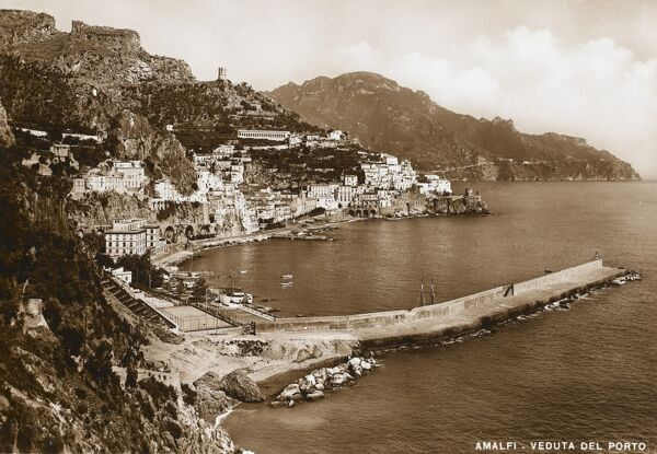 View of the Harbour - Amalfi, Italy