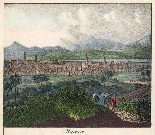 View of Marrakesh, Morocco