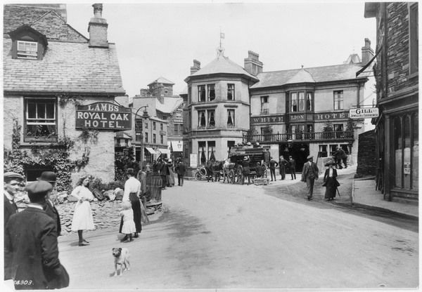 Village scene, Ambleside